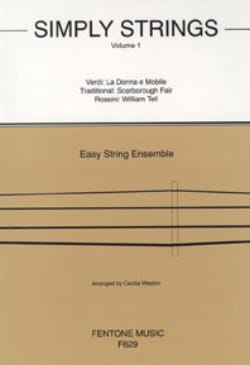 Cecilia Weston - Simply Strings Volume 1 - String Ensemble - Sheet Music - di-arezzo.co.uk
