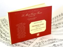 Michel de la Barre - 1er Livre de Pièces – Flûte et Bc (Fac-Similé) - Partition - di-arezzo.fr