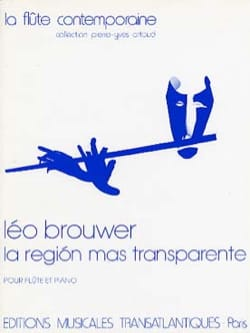 Leo Brouwer - La region mas transparente - Partition - di-arezzo.fr