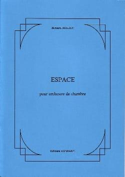 Espace - Orchestre de chambre Bernard Malait Partition laflutedepan