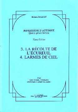 Bernard Malait - Impressions d'automne – 2° Cahier - Partition - di-arezzo.fr
