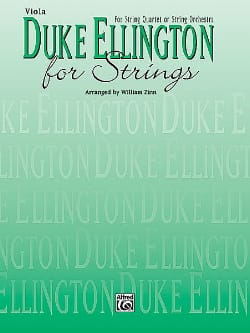 Duke Ellington - Duke Ellington For Strings - Conducteur et parties - Partition - di-arezzo.fr