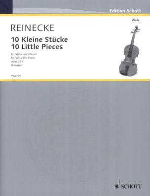 Carl Reinecke - 10 Kleine Stücke Op. 213 - Viola - Partition - di-arezzo.fr