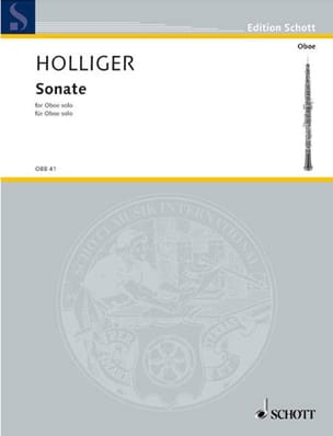 Heinz Holliger - Sonata for solo Oboe - Sheet Music - di-arezzo.com