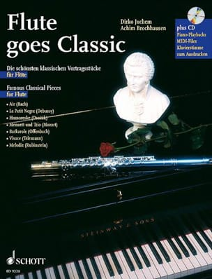 Juchem Dirko / Brochhausen Achim - Flute Goes Classic - Partition - di-arezzo.fr