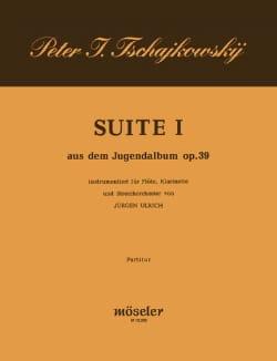 Suite Nr. 1 aus dem Jugenalbum op. 39 - Partitur - laflutedepan.com