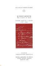 I Soler Vicent Martin - Divertimento - Octuor A Wind - Sheet Music - di-arezzo.co.uk