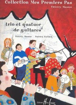 Masson Thierry / Guillem Patrick - Trio et quatuor de guitares - Partition - di-arezzo.fr