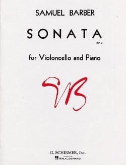 Samuel Barber - Sonata op. 6 - Partition - di-arezzo.fr