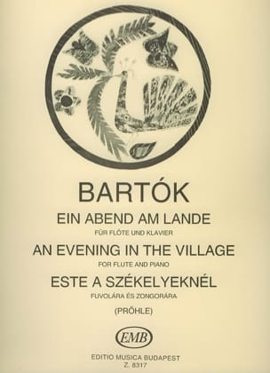 BARTOK - Ein Abend am Lande - Sheet Music - di-arezzo.co.uk