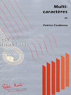 Multi-caractères Patrice Couineau Partition Guitare - laflutedepan