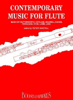 Contemporary Music for Flute - Sheet Music - di-arezzo.co.uk