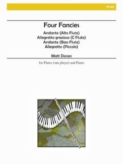 Matt H. Doran - Four Fancies - Partition - di-arezzo.fr