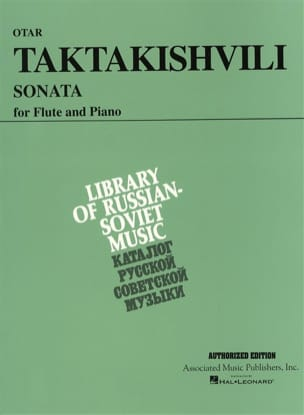 Otar Taktakishvili - Sonata - Sheet Music - di-arezzo.co.uk