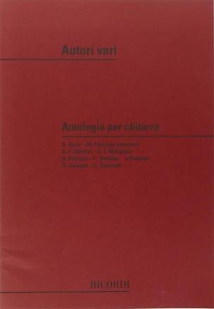 Antologia per Chitarra - Partition - di-arezzo.fr