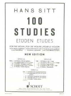 Hans Sitt - 100 Etüden op. 32 - Buch 5 - Noten - di-arezzo.de