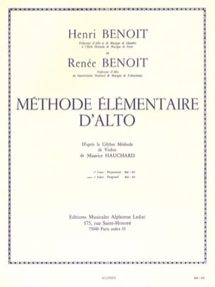Benoit Henri / Benoit Renée - Basic Viola Method - Volume 2 - Sheet Music - di-arezzo.com