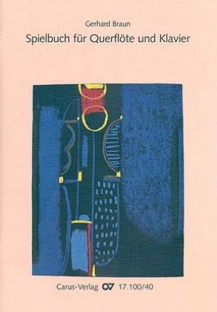 Gerhard Braun - Spielbuch for Querflote und Klavier - Sheet Music - di-arezzo.com
