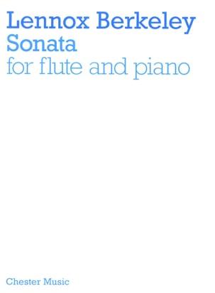 Lennox Berkeley - Sonata op. 97 –Flute piano - Partition - di-arezzo.fr