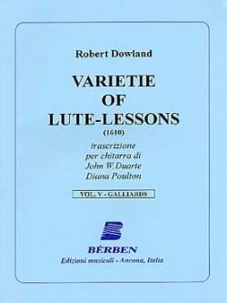 Varietie of Lute Lessons (1610) – Volume 5 - laflutedepan.com