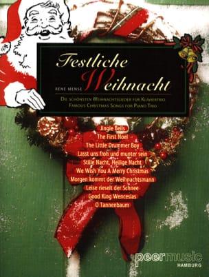 René Mense - Festliche Weihnacht - KlavierTrio - Sheet Music - di-arezzo.co.uk