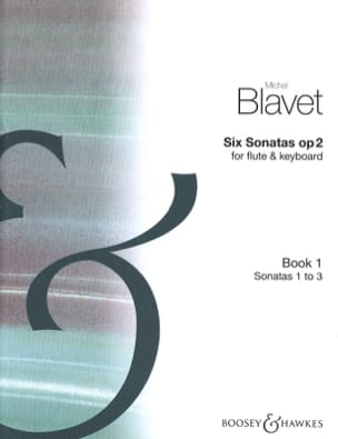 6 Sonatas op. 2 (Volume 1) – Flute piano - laflutedepan.com
