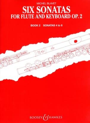 Michel Blavet - 6 Sonatas op. 2 Volume 2 - Flute piano - Partition - di-arezzo.fr