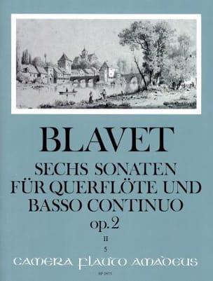 Michel Blavet - 6 Sonaten op. 2 Bd. 2 - Flute and Bc - Sheet Music - di-arezzo.com
