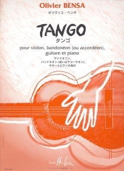 Tango –Parties + conducteur - Olivier Bensa - laflutedepan.com