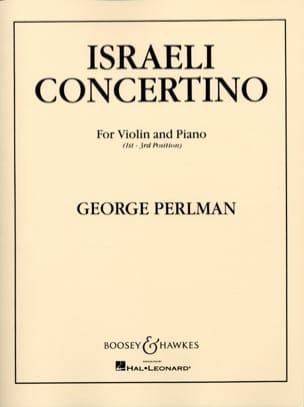 George Perlman - Israeli Concertino - Sheet Music - di-arezzo.co.uk