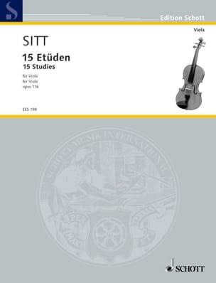 Hans Sitt - Etden op. 116 - Viola - Partitura - di-arezzo.es