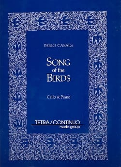 Pablo Casals - Song of the Birds - Partition - di-arezzo.fr