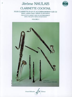 Jérome Naulais - Cocktail Clarinet - Volume 2 - Sheet Music - di-arezzo.com