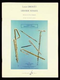 Grande sonate - Flûte et piano - Louis Drouet - laflutedepan.com
