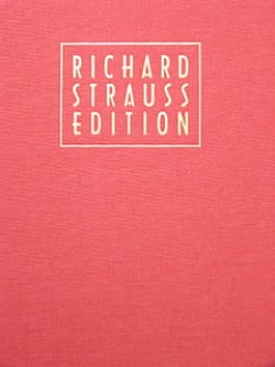 Richard Strauss - Volume 20 - Tone Poems 1 - Richard Strauss Edition - Partition - di-arezzo.fr