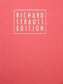 Richard Strauss - Volume 21 - Tone Poems 2 - Richard Strauss Edition - Sheet Music - di-arezzo.com