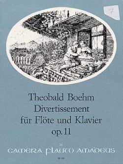 Divertissement, op. 11 - Theobald Boehm - laflutedepan.com