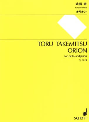 Orion Toru Takemitsu Partition Violoncelle - laflutedepan
