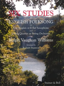 Williams Ralph Vaughan - 6 Studies In English Folksong - Cor Anglais et Cordes - Partition - di-arezzo.fr