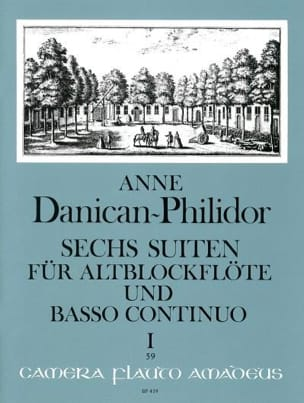 Anne Danican-Philidor - 6 Suiten Volume 1 - Partition - di-arezzo.fr