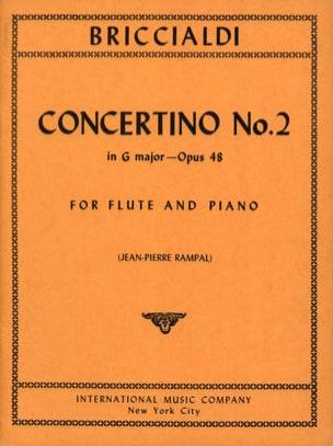 Concertino N° 2, Op. 48 - Flûte et Piano laflutedepan