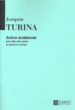 Joaquin Turina - Andalusian scene - Sheet Music - di-arezzo.co.uk