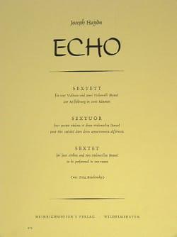 HAYDN - Echo Sextuor - Partitura - di-arezzo.es