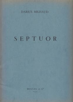 Darius Milhaud - Septuor - Parties - Sheet Music - di-arezzo.co.uk
