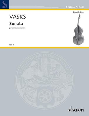 Peteris Vasks - Sonata per contrebasso solo - Partition - di-arezzo.fr