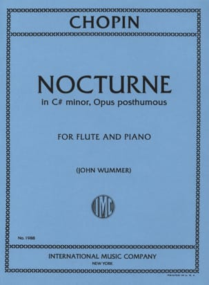CHOPIN - Nocturne in C - Sheet Music - di-arezzo.com