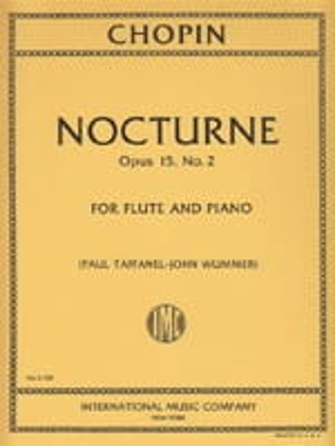 CHOPIN - Nocturne op. 15 n ° 2 - Flauto e pianoforte - Partitura - di-arezzo.it