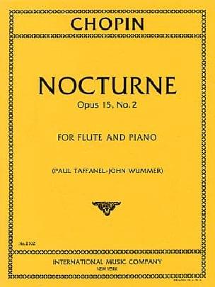 Nocturne op. 15 n° 2 - Flûte et piano - CHOPIN - laflutedepan.com