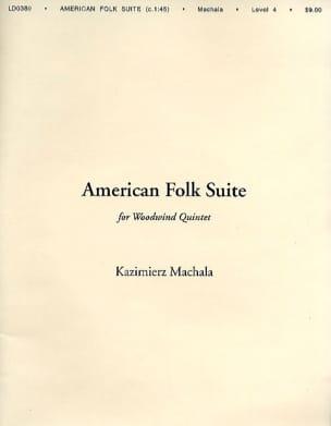 American Folk Suite Kazimierz Machala Partition laflutedepan