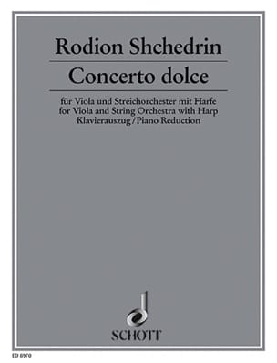 Rodion Shchedrin - Concerto Dolce - Partition - di-arezzo.fr